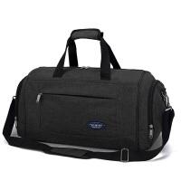 新款旅行包男士手提包大容量女出差旅游短途行李包登机包健身包 大