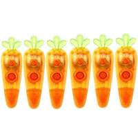 晨光透明胡萝卜修正带 学生创意6M涂改带 PET带芯不断带 ACT59503