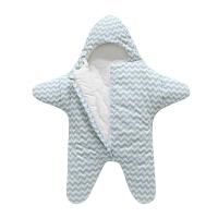 婴儿睡袋新生儿用品春秋冬男女宝宝抱被0-6-18防踢被神器海星睡袋