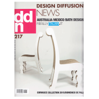 进口原版年刊订阅 DDN-DESIGN DIFFUSION NEWS 设计交流新闻 意大利原版英意双语杂志 年订9期