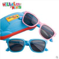 时尚装饰眼镜户外小孩偏光镜太阳眼镜青少年软硅胶墨镜时尚男女童太阳镜