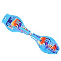 【当当自营】炫梦奇活力板滑板 两轮儿童成人滑板车游龙灵蛇板漂移闪光轮送背包 天空蓝经济套餐