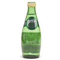 Perrier巴黎水含气天然矿泉水330ml(法国进口 瓶装)