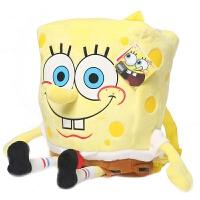 海绵宝宝儿童书包可爱卡通男女童幼儿园中小班 幼儿宝宝双肩背包 海绵宝宝背包