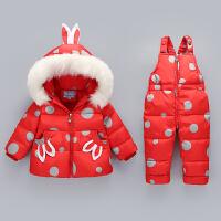 新款宝宝羽绒服套装女童套装男童装宝宝女婴儿幼儿款冬装外套