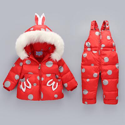 新款宝宝羽绒服套装女童套装男童装宝宝女婴儿幼儿款冬装外套 发货周期:一般在付款后2-90天左右发货,具体发货时间请以与客服协商的时间为准