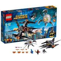 当当自营LEGO乐高DC超级英雄蝙蝠侠系列决战兄弟眼76111塑料积木玩具