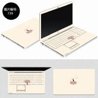 电脑贴纸15.6寸联想y50-70 g510笔记本贴膜 g50-80外壳保护膜