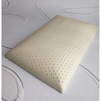泰乳胶枕头低枕薄款柔软矮枕芯儿童橡胶颈椎枕 60*40*7CM