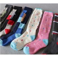 儿童滑雪袜子原单户外运动型毛圈毛巾底加厚冬季保暖袜登山袜
