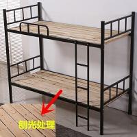 铁床上下铺子母床钢制双层床宿舍高低铺1.2/1.5米宽儿童床加厚