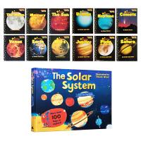 科普英文绘本 Scholastic inner outer solar system Readers 12册+1册翻翻