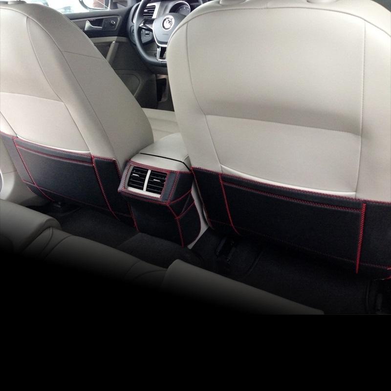 雪铁龙世嘉C4L C5专用座椅防踢垫 世嘉 爱丽舍 C3RX 改装
