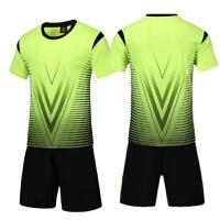 短袖儿童足球服套装训练服学生足球比赛服队服班服小孩足球衣
