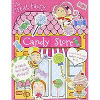 【预订】The Great Fairy Candy Store Sticker Activity Book