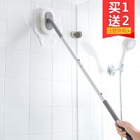 优思居 长柄海绵清洁刷 墙壁瓷砖刷卫生间浴缸刷海绵擦卧室地板刷