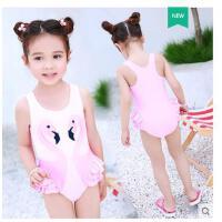 儿童泳衣女孩连体可装婴幼儿卡通泡温泉爱公主宝宝中大童小童游泳