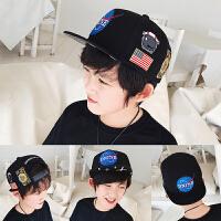�和�帽子��舌帽2018新款潮款男童男孩����遮�帽��性刺�C棒球帽