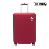 行李箱保护套24寸拉杆箱旅行箱套纯色弹力加厚耐磨抗托运24/28寸