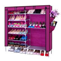 创意鞋柜收纳鞋架 简易鞋架无纺布