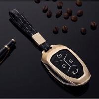 吉利领克钥匙包领克01车用钥匙套扣壳智能钥匙铝合金