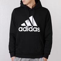 Adidas阿迪达斯 男装 运动休闲连帽卫衣套头衫 DQ1461