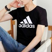 Adidas阿迪达斯 男装 运动休闲圆领透气短袖T恤 DT9933