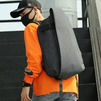 防水尼龙男士双肩包大学生书包大容量旅行包电脑包时尚背包男