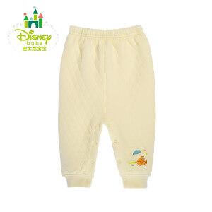 迪士尼Disney宝宝服饰 保暖加厚棉裤婴儿 秋冬开裆裤子童装154K659