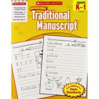 现货英文原版 Scholastic Success with Traditional Manu*, Grades K-1