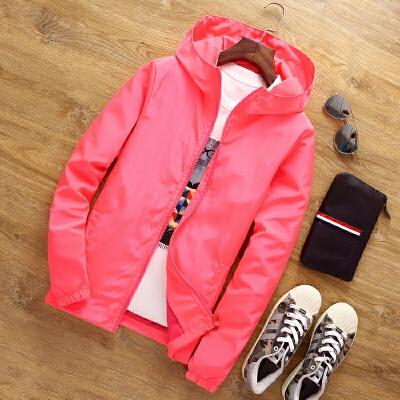 春季新款男士外套青年韩版修身春装学生休闲夹克大码春秋男装外衣 发货周期:一般在付款后2-90天左右发货,具体发货时间请以与客服协商的时间为准