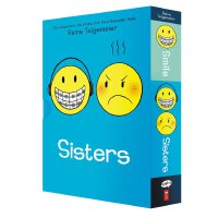Smile/Sisters Box Set 英文原版 Raina Telgemeier 微笑/姐妹两本套装 Eisne