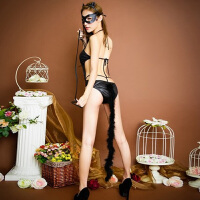 情趣内衣女制服性感兔女郎套装极度诱惑透视猫女激情开档连体