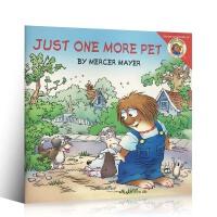 【全店300减80】英文原版进口绘本 little critter:JUST 1 MORE PET 幽默逗趣的小毛人怪物