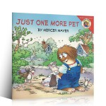 顺丰发货 英文原版进口绘本 little critter:JUST 1 MORE PET 幽默逗趣的小毛人怪物系列 汪