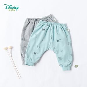 迪士尼Disney 可爱恐龙印花双层PP裤秋冬新款儿童加厚保暖长裤子183K792
