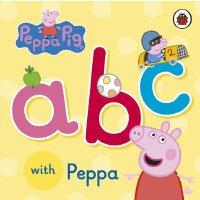 【现货】英文原版 Peppa Pig: ABC with Peppa 粉红猪小妹(小猪佩奇) :学ABC