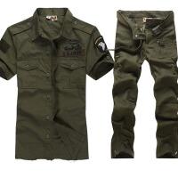 户外军迷休闲登山军迷服饰101空降师男迷彩服套装