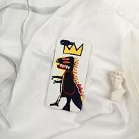 涂鸦皇冠恐龙小米9mi8/8青春/8se 6x5x5s note3红米note7手机壳硬 小米9SE 皇冠龙