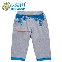 【1件5折后到手价:25元】大黄蜂童装 儿童运动小童休闲裤 男童夏季短裤
