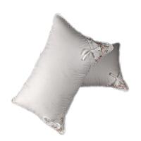 枕头枕芯薰衣草安眠枕单人助睡眠刺绣枕椎枕一对拍二