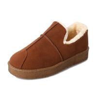 WARORWAR新品YM30-A102冬季欧美平底舒适女士短靴雪地靴