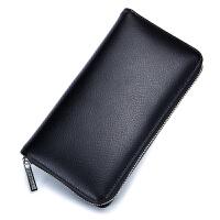 风琴卡包男多卡位皮大容量手拿钱包女式长款卡片包一体韩国简约