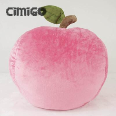 西米果你是我的小苹果 卡通抱枕靠垫 苹果毛绒玩具 水果 女生礼物 如图色 发货周期:一般在付款后2-90天左右发货,具体发货时间请以与客服协商的时间为准