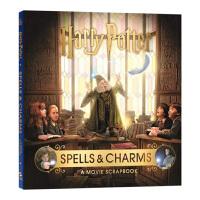 哈利波特 咒语与魅力 英文原版 Harry Potter Spells and Charms A Movie Scra