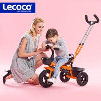 儿童三轮车脚踏车2-3-5岁宝宝手推小孩童车宝宝自行车