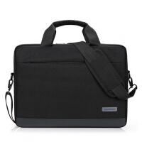 联想华硕戴尔笔记本单肩手提14寸15.6寸商务男女通用笔记本电脑包