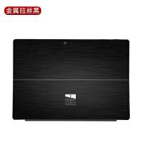 微软平板贴膜NEW surface PRO6 5 4 贴纸背膜屏幕保护膜键盘膜12.3寸i5机身防护
