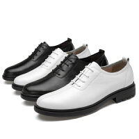 男韩版潮流商务正装英伦尖头休闲鞋婚礼男鞋内增高鞋