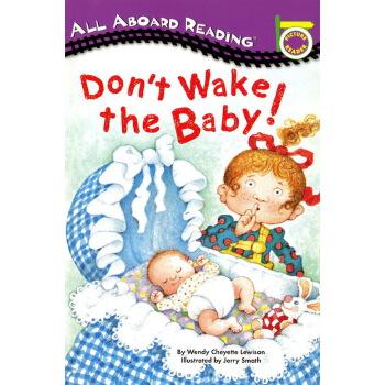 英文原版绘本 DON'T WAKE THE BABY 汪培珽第一阶段 All Aboard Reading